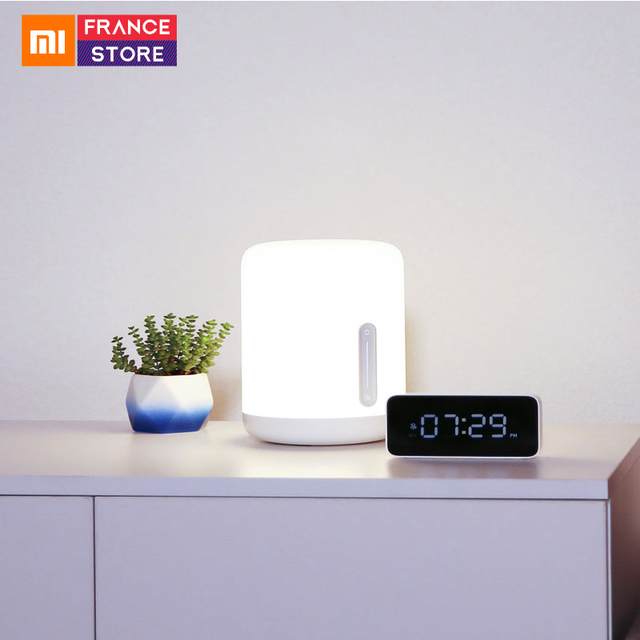 Original Xiaomi Bedside Lamp 2 LED Light Bluetooth Smart Indoor Night Light Remote Touch Control Smart App control