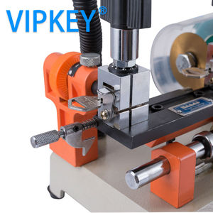 Image 5 - 220Vand 110V version defu 238bs horizontal key cutting machine double head key copy machine for door and car key cutter machine