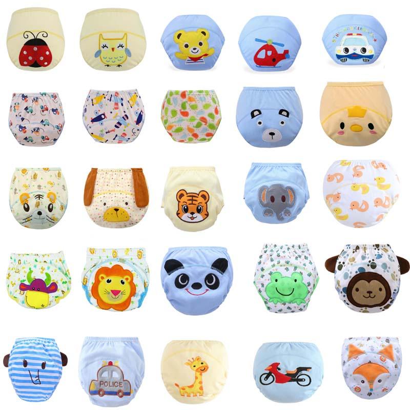 Diaper Panties Training-Pants Sample Newborn Baby Reusable Cheap Underwear Toddler Infant