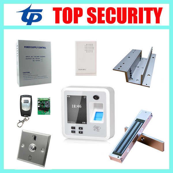 Good quality TCP/IP bioemtric fingerprint door access control reader with EM lock, exit button, power supply and door bell 1pcs ga 8knxp rev1 0 875 selling with good quality