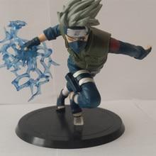 Naruto Kakashi Sasuke Action Figure 16cm Anime puppets Figure PVC Toys