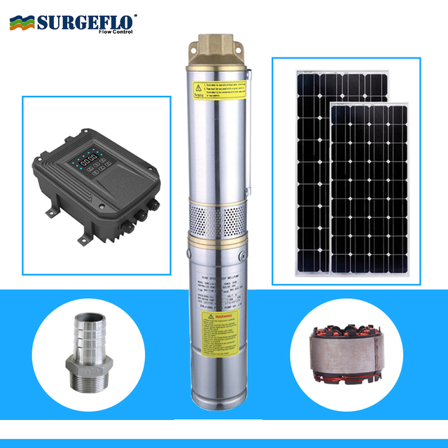 Solar Powered Water Pump For Ponds Centrifugal 1hp Dc Submersible Price