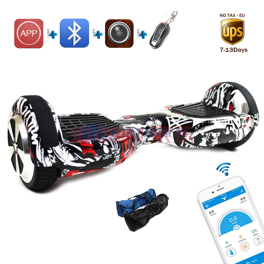APP smart self balancing electric skateboard unicycle oxboard skywalker led light electric scooter standing drift hover board high quality original projector lamp poa lmp47 for plc xp41 plc xp41l plc xp46 plc xp46l with 6 months