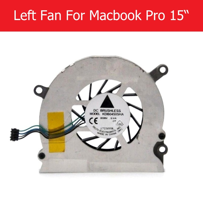 "Left Right Cooling Fan Cooler for Apple Macbook Pro 15/"" A1211 A1226 A1260"