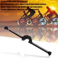 Bicycle Wheel LED Lights Smart Bluetooth Intelligent Control Wheel Light Bike Wheel Spoke Lights Waterproof For