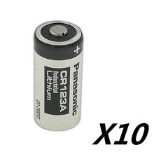 10 sztuk/partia Panasonic 123 bateria litowa 3V Arlo baterii aparatu CR123A CR17345 DL123A EL123A 123A