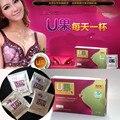 6 caixas = 48 Sacos de Ervas Papaya U Frutas Chá de Mama, bebida para a ampliação do peito de mama, peito ampliar frete grátis