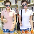 Women Polo Shirts woman brand polo femme Cotton bosco Short sleeve camiseta polo feminine tights fitness Plus Size 6XL  32