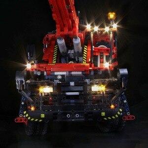 Image 4 - Светодиодная лампа для LEGO Mechanical Group 42082, кран с комплексным рельефом для lego Technic серии, мальчик, девочка, строительные блоки, игрушка (только свет)