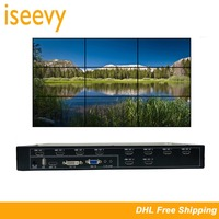 ISEEVY Video Wall Controller 3x3 2x5 2x4 HDMI DVI VGA USB Video Processor for 9 TV Splicing Display