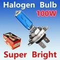 2 unids H7 100 W 12 V Bombilla Halógena Super White Faros De Niebla potencia 55 W Car Lamp Faro Del Coche Fuente de Luz de estacionamiento auto Amarillo 24 V