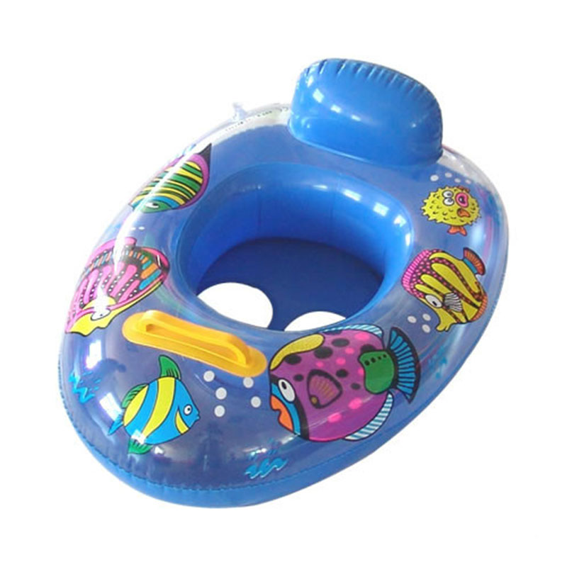 Swimming Baby Accessories Inflatable Float Swimming Seat Ring Kids Safety Floating Swim Pool Boat Toy