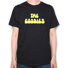 8d3ac6444 The Goodies T Shirt - Classic 70's TV Show Logo Python Classic Comedy Cool  Casual pride