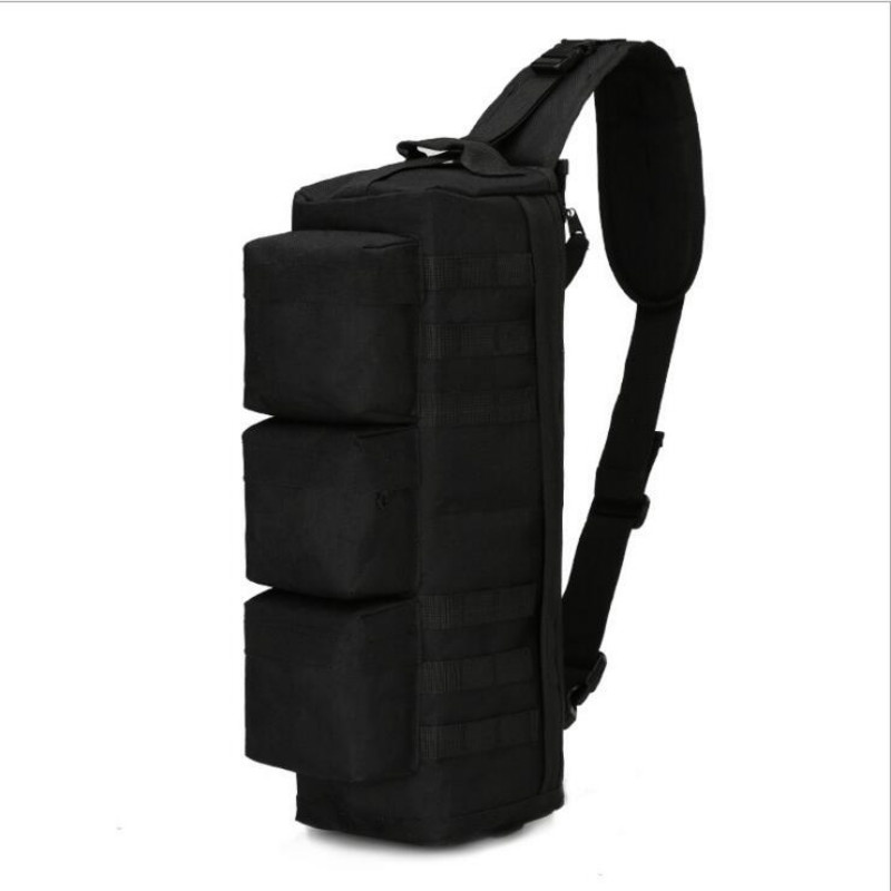 Camouflage Crossbody Messenger Bag Sling Shoulder Bag CS Chest Pack Molle free shipping free shipping 10pcs cs 8140dw