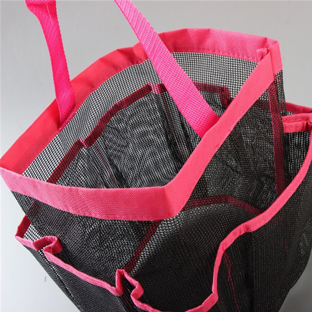 1 шт. креативная Складная 8 Сетка Оксфорд тонкая сетка сумка для хранения для ванной комнаты