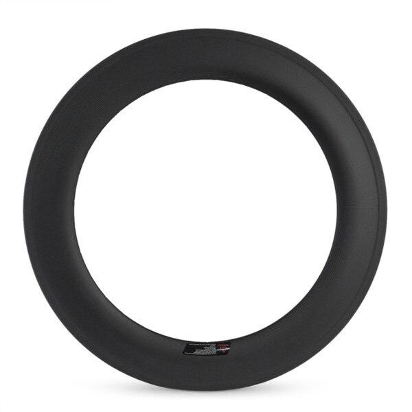 Green cycling partners 700C U shape rims 23mm width cycling wheel carbon wheels 88mm clincher tubeless compatible Cn made xiamen