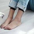 Nueva señora fashion women summer simple hollow out sexy malla mallas de nylon calcetines mujer niñas negro novedad calcetines medias de rejilla