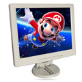 """10.4"""" LCD monitor, Resolution 800*600, TN panel can be used as desktop Computer display, can be used in the car as car TV white"""