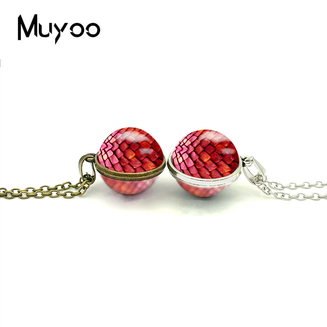 New Dragon Eggs Double Sided Necklace