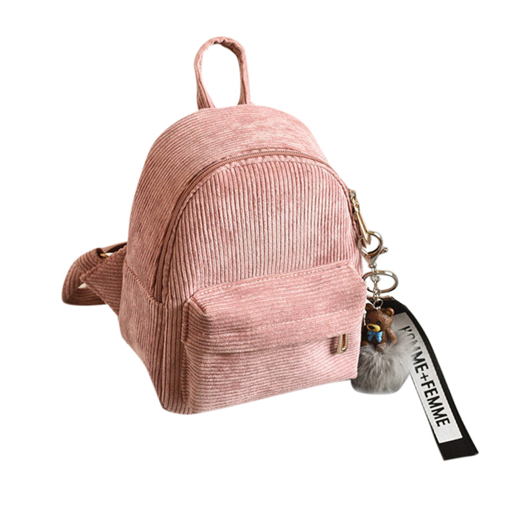 New Sweet Women Lady Backpack Shoulder Bag Zipper Mini Durable Fashion Package High Capacity Lby2018