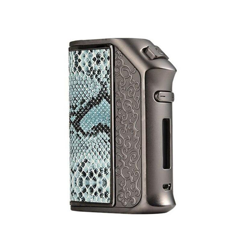 Cigarette électronique tempête de vapeur 200 W boîte Mod Storm200 TC E-Cigarette RBA RDA RDTA énorme Vape peut recharge double batterie 18650