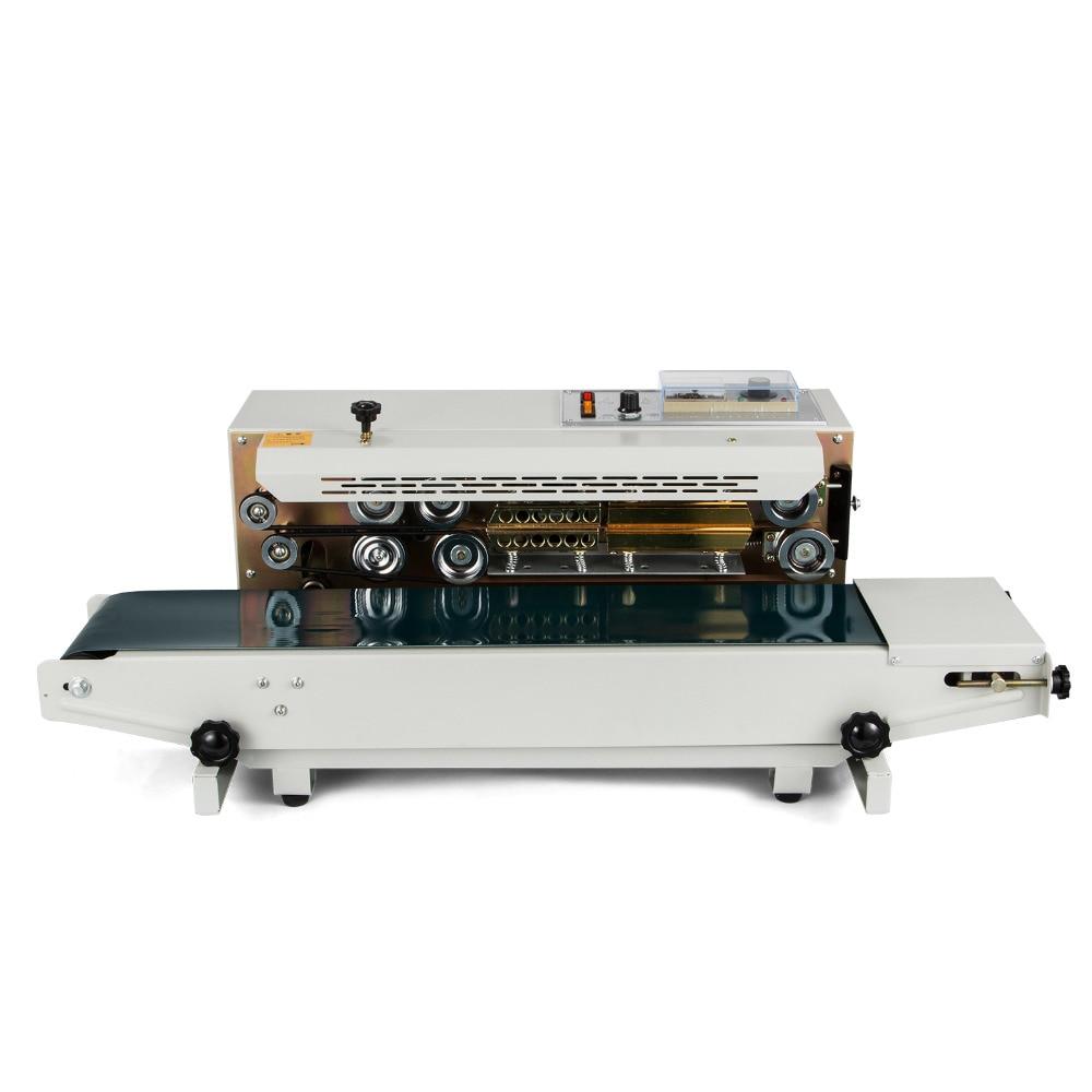 FREE SHIPPING Automatic Horizontal Continuous Plastic Bag Band Sealing Sealer Machine FR900