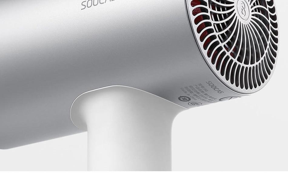 18详情-SOOCAS H3 Anion hair blow dryer Aluminum alloy body 1800W professional 3 mode dryer powerful electric hair dryer xiaomi