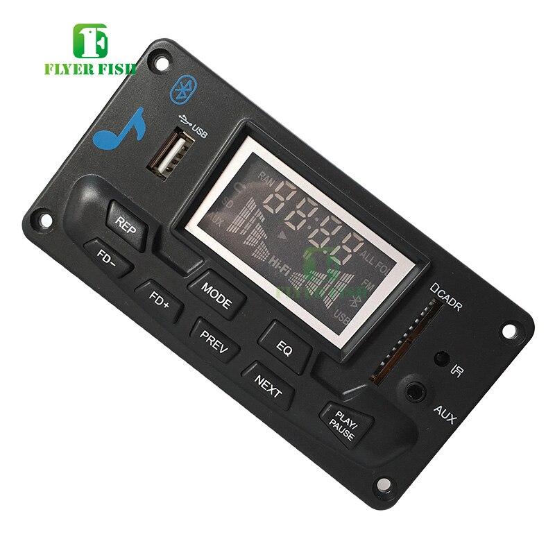 Image 3 - Bluetooth led música áudio indicador de espectro ape mp3 placa nível indicador vu medidor velocidade flac wma receptor fm módulo app no carroCircuitos integrados   -