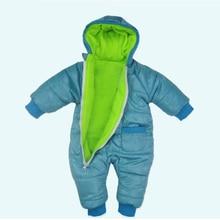 Warm Outerwear Childrens Overalls Romper