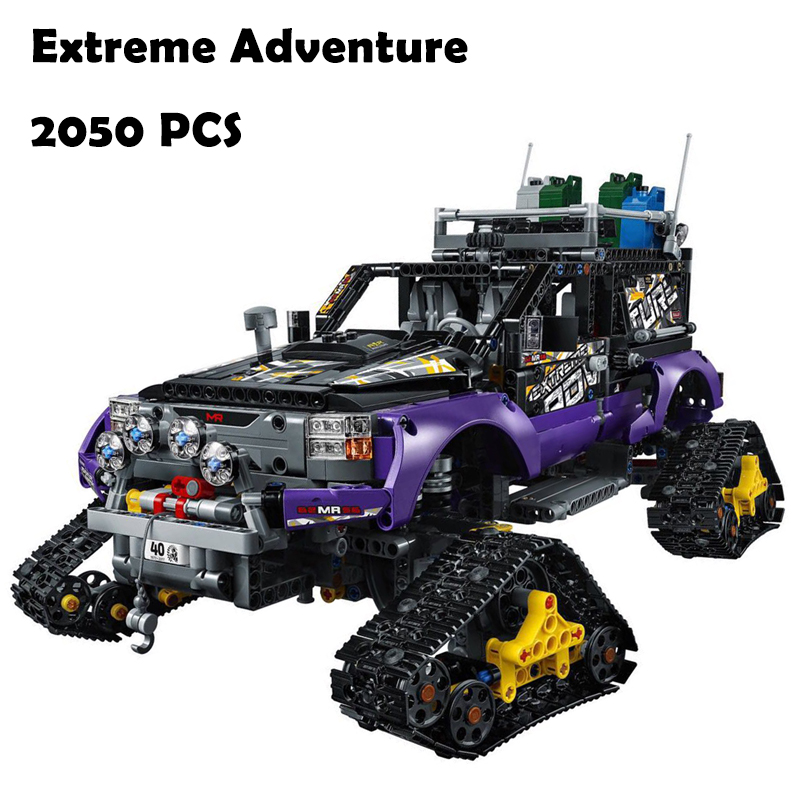 Model Building Blocks toys 20057 3372 2050Pcs Extreme Adventure compatible with lego Technic Series 42069 DIY toys & hobbies