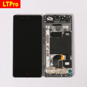 Image 1 - Original Best Working LCD Display Touch Screen Digitizer Assembly with Frame For ZTE Nubia Z9 NX508J Phone Sensor Replacement