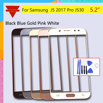 5.2New J530 For Samsung Galaxy J5 Pro 2015 J530 Touch Screen Front Glass Panel TouchScreen LCD Outer Lens J5 Pro image