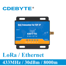 Get more info on the E90-DTU-433L30E Ethernet LoRa Long Range 433MHz 1W IoT uhf Wireless Transceiver rf Module 433 MHz Transmitter and Receiver