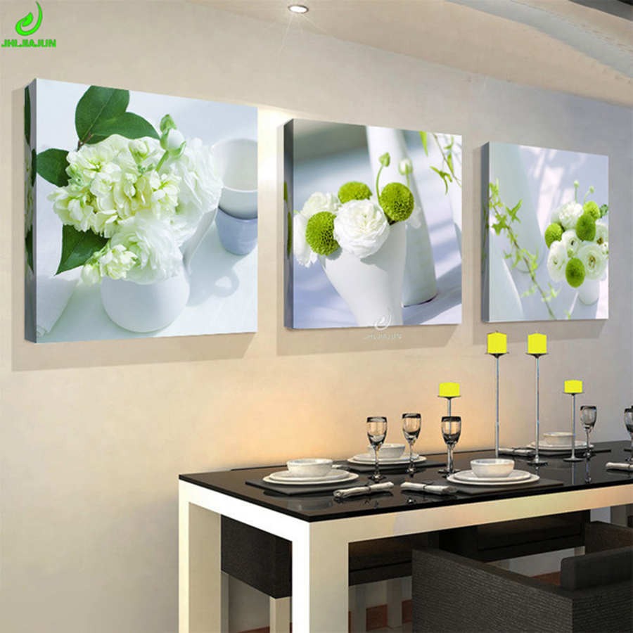 3 Pieces picture for Kitchen on the wall photo modular mass effect canvas oil painting wall for living room posters and prints(China)