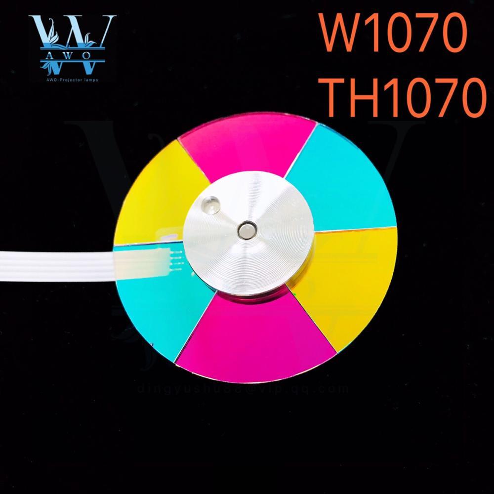 Nouveau Original DLP projecteur couleur roue pour BenQ TH1070 W1070 roue couleur diamètre 44 MM