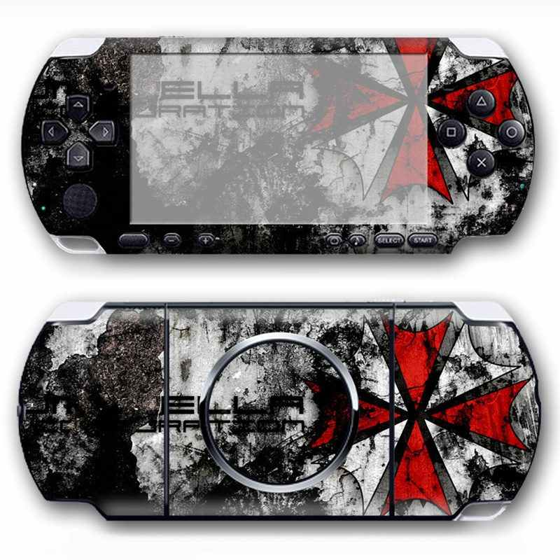 Protector Vinyl Skin Sticker Cover for Sony PSP 3000 console decals wrap