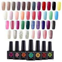 COSCELIA 40pc/set Gel Nail Polish Set For Manicure 10ML Soak Off Semi Permanent UV LED Nail Art Color Varnish For Nail Kits