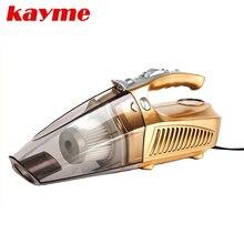 Kayme mini handheld 100 W odkurzacz samochodowy auto przenośne pyłu szczotka do samochodu 12 v samochód sprężarki powietrza do pompowania opon infation pumb