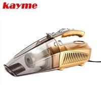 Kayme mini portatile 100 W vacuum cleaner car auto dust portatile spazzola per auto 12 v auto compressore d'aria di pneumatici gonfiatore infation pumb