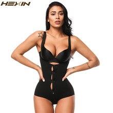 97cd6f90f2df1 HEXIN Zipper And Hooks Women Body Shaper Underwear Fajas Waist Slimming  Bodysuit Underwear Body Shapers Corsets Shapewear