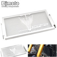 BJMOTO Motorcycle Stainless Steel Radiator Guard Cover Protector For Yamaha MT07 MT 07 MT 07 2014
