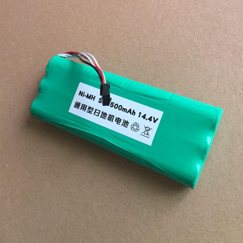 1x Robot Replacement 14.4V 3000mAh Battery Back for Ecovacs Deepoo Deebot 560 570 580 D54 D56 D58 Robotic Vacuum Cleaner