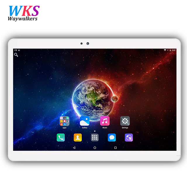 """DHL Free shipping Android 7.0 Tablets PC 10 inch IPS 1920*1200 octa Core 4GB+64GB Dual SIM Card 3G 4G Phone Call 10"""" Phablet"""