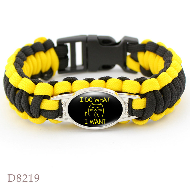 Dog mom paracord bracelets 5