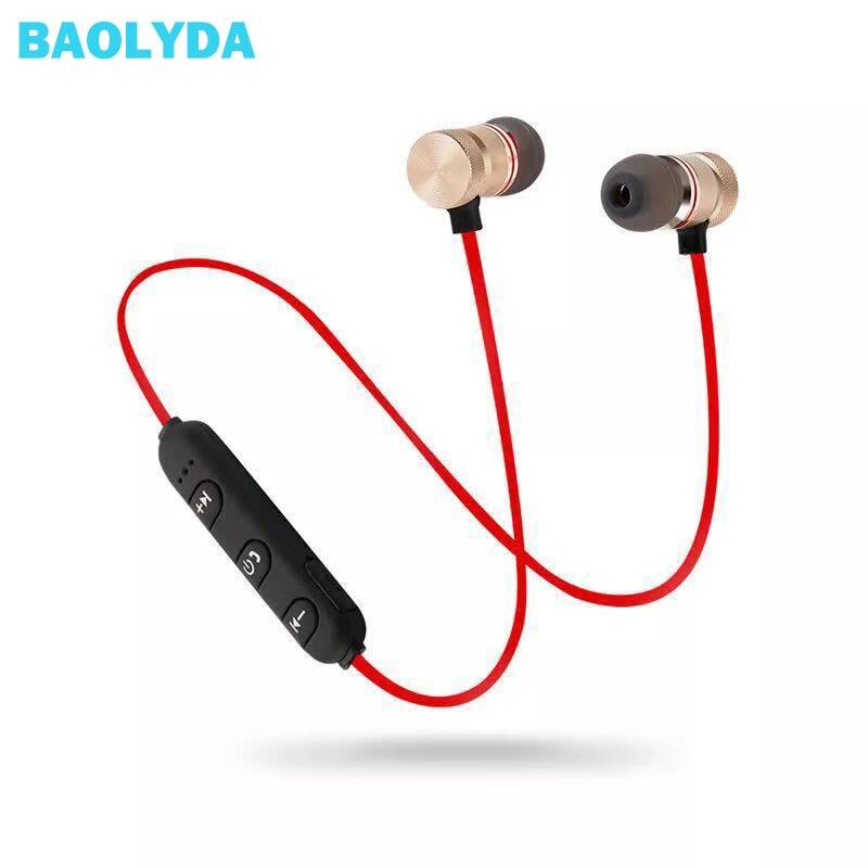 Baolyda Wireless Headphone Bluetooth Earphone Headphone For Phone Neckband sport earphone Auriculare CSR Bluetooth For All Phone