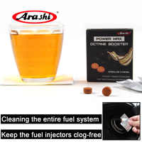 Arashi 6 Packs Power Max Diesel Fuel Additive Injector Petrol Gasoline Cars Vehicles Engine Booster Oil Cleaner For BMW 2018