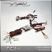 TFL TRAXXAS TRX 4T4 Light Set Upgrade Modification Ford Bronco Shell Special Linkage Light Set