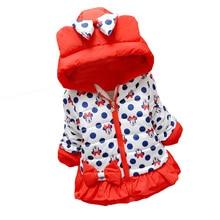 New 2017 Spring & Winter Children Minnie Hoodies Jacket & Coat Baby