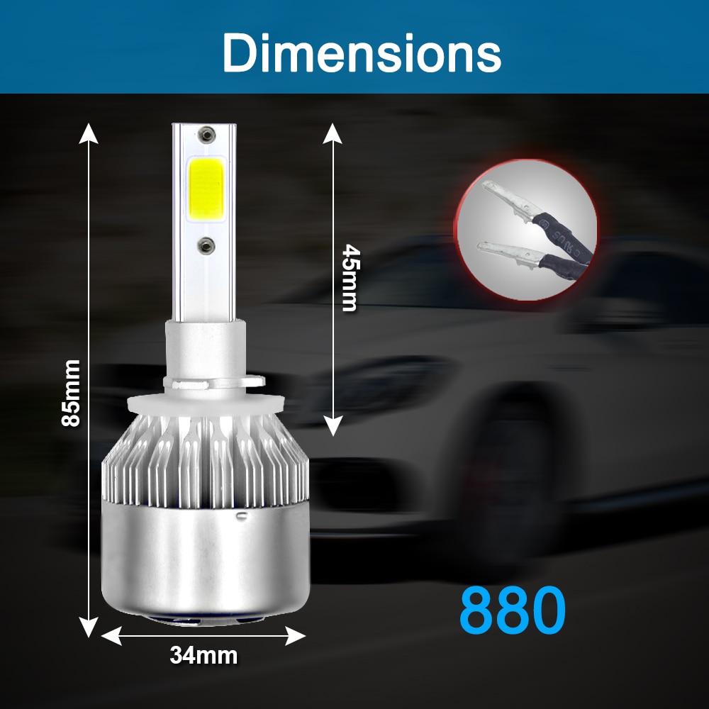 HTB1SoBJbyYrK1Rjy0Fdq6ACvVXa3 PANDUK C6 H1 H3 Led Headlight Hulbs H7 LED Car Lights H4 880 H11 HB3 9005 HB4 9006 H13 6000K 72W 12V 24V 8000LM Auto Headlamps