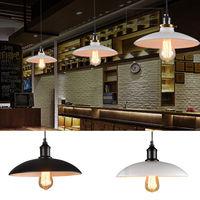 Vintage Industrial Pendant Antique Loft Bar Ceiling Light Metal Lamp Shade Hot